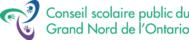 Conseil scolaire public du Grand Nord de l'Ontario - CSPGNO