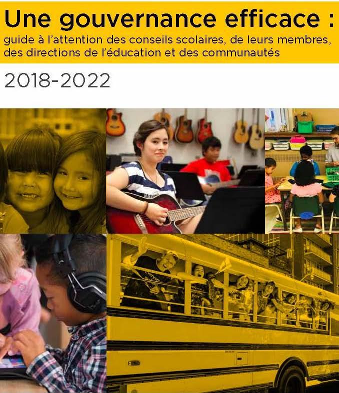 Une gouvernance efficace : Le guide 2018 - 2020
