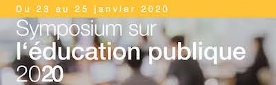 Symposium sur l'éducation publique 2020