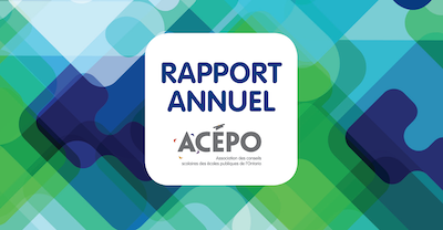 2019 ACÉPO Annual Report