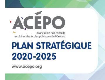 Plan stratégique 2020-2025 de l'ACÉPO